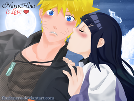 Surprise kiss - NaruHina by Hatake-Flor