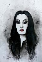 Morticia by RalucaFratea
