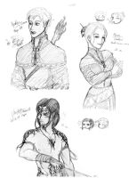 DAO: My Original Characters Part 1 by Devileve