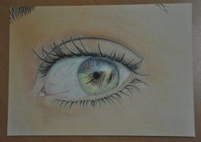 Eye Drawing by nobii