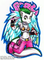 Scry Badge by kina
