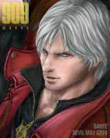 Dante from DMC4 : face by JP-909