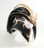 Tyrant Swain League of Legends Leather Helmet by Azmal