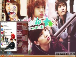 Shinee l Hello Theme for XP by vinhxomdoi