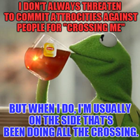 Kermit crossing reference to Mad Dog Mattis by ACEnBEAKY