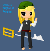 PjatO: Annabeth Chase by tinker4939