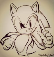 Charcoal Sonic by CrystallineJewel0
