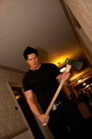 Zak With An Ax by ghostadventuresgirl