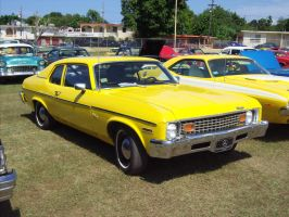 1974 Chevrolet Nova coupe by Mister-Lou