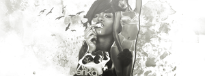 Riri Cover FB Black and White by directionerbtch