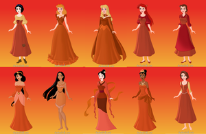 Oragne Princesses by FaiLymForever