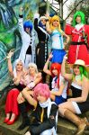 Fairy Tail Cosplay by KagerouRyuzuu