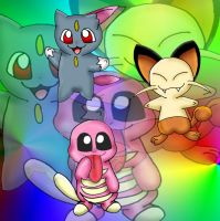 all three made up baby pkmn by princessangel83