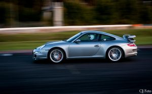 Racing Porsche by CJacobssonFoto