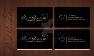 Paul Bardetta card concept by CanorousDesign