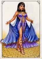 Cleopatra by Reverie-drawingly