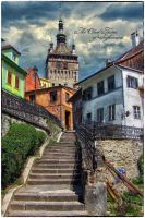 The Clock Tower of Sighisoara by AlexandruGatea
