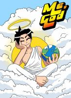 Me, God : Title Page by ComX-1