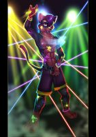 + Rave Kitty + by JezzKitty