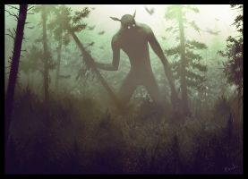 Forest God by randis