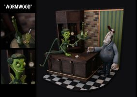 'Wormwood' the Green Fairy by MorffinCreations