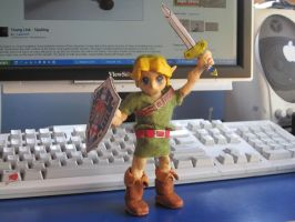 Young Link Sculpture: sweet victory by Tomistral