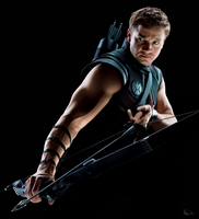 Hawkeye - Painting by Lasse17