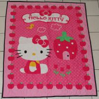 Lap Size Hello Kitty Quilt by quiltoni
