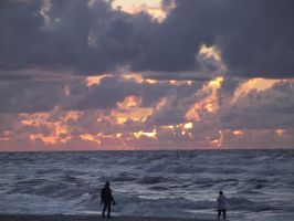 Baltic Sea Sunset by Adagem