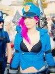 League of Legends - Officer Vi by DeathWrathAngel