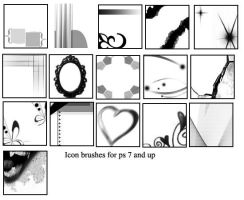 Icon brushes by Lost-Fan