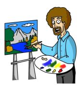 Bob Effin Ross by Keep-it-simple14