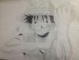ONE PIECE - Monkey D Luffy by Princefaroos