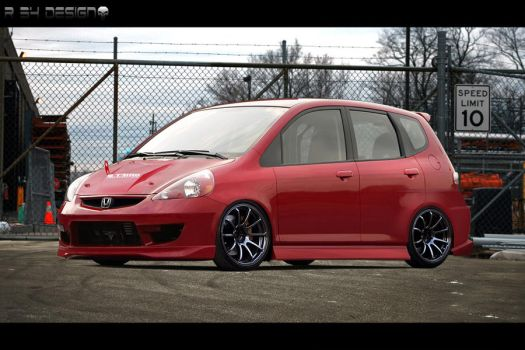 Honda Fit by r34-Design