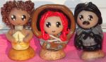 Game of Thrones Chibi Cake Toppers (2nd set) by ShadyDarkGirl