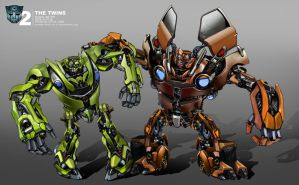 Transformers 2 The Twins by waza8i