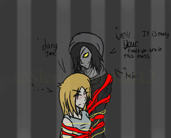 Walking Puppet 2: yeah..this will take a while... by Slendergirl2012