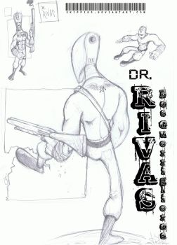 Dr.Rivas of the Los Guerriglie by Skippiks