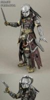 Custom Pirate Predator 7 inch action figure by Jin-Saotome