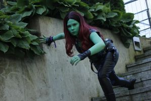 Gamora cosplay by SaaraZ