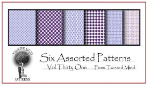 Twisted Mind Assorted Pattern Set 31 by Textures-and-More