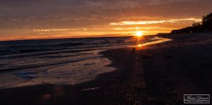 Sunrise at the Baltic Sea by MariaDeinert