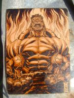 redhulk by burninginkworks