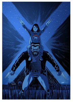 LOGAN and X-23 by Cabbral