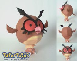 Hoothoot by P-M-F