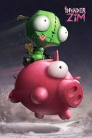 Invader Zim: Taco Recovery by HeyCat