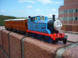 Thomas with Annie and Clarabel by ThomasAnime