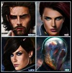 LMS PREVIEW 23, 24, 25, 26 - by DanLuVisiArt