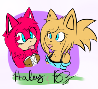 Pink and BZ colored by HaleyxH
