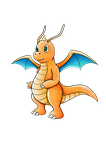 Dragonite by GenoMorph